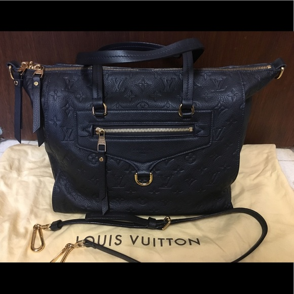 34db2af5970c Louis Vuitton Handbags - Authentic Louis Vuitton Lumineuse PM Bleu Infini